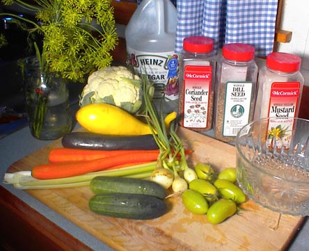 how to make vegetable pickle