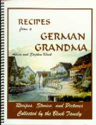 My German Cookbook