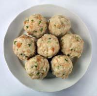 German Bread Dumplings, Semmelknodel