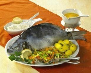 Karpfen blau carp simmmered in white wine beef schaschlik forumfinder Choice Image