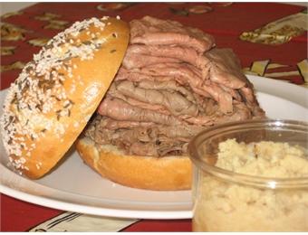 Kummelweck buns, Potato Rolls with Caraway and Salt