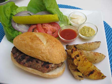 German Pork Burger Recipe — Dishmaps