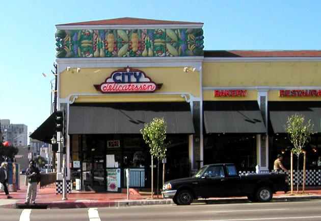 535 University Avenue, San Diego, where the Cardini family operated a