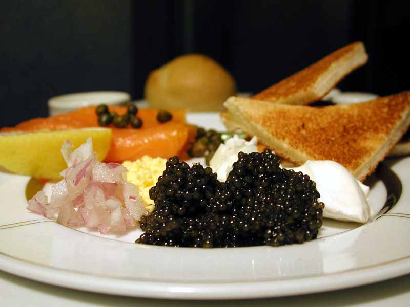 The history of caviar for What fish does caviar come from