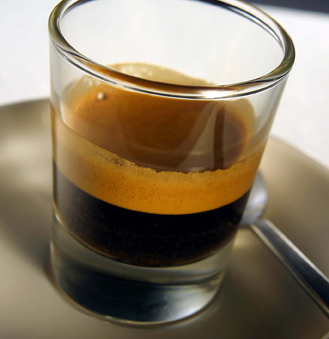 dark double shot espresso cup strong drip coffee mmm mmm