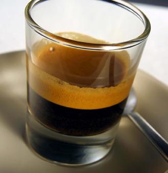 dark double shot espresso cup strong drip coffee mmm mmm