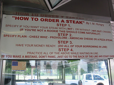 The history of Cheese Steak or sometimes called Philly ...