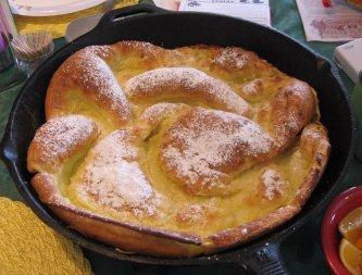 German Baked Pancake, Dutch Baby